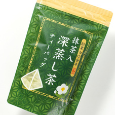 抹茶入深蒸し茶 ティーバック 298円(税抜)