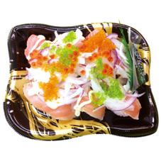シャキシャキオニオンマヨサーモン握り 380円(税抜)