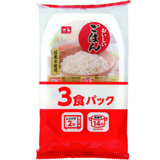 おいしいごはん3P 199円