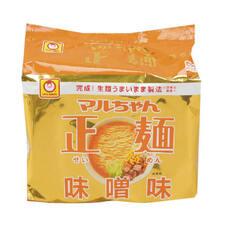 正麺 味噌味 288円(税抜)