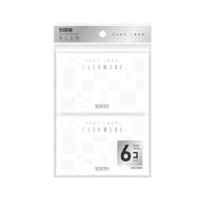 スコッティ カシミヤ ポケット6コパック 128円(税抜)