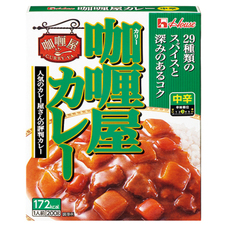 ハウス カリー屋カレー 中辛 78円(税抜)