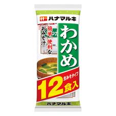 ハナマルキ 生みそ汁 わかめ 78円(税抜)