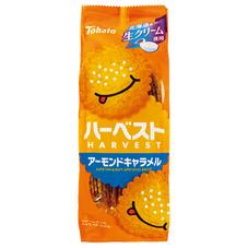 東ハト ハーベスト アーモンドキャラメル 78円(税抜)