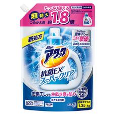 アタック抗菌EX スーパークリアジェル 詰替 338円(税抜)