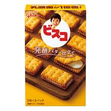 グリコ ビスコ〈発酵バター仕立て〉 78円(税抜)