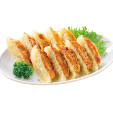 国産素材の焼き餃子 358円(税抜)
