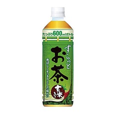 すらっとお茶 600ML 48円(税抜)