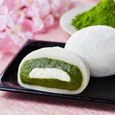 宇治抹茶の純生クリーム大福 140円
