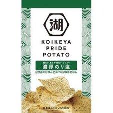 プライドポテト 濃厚のり塩 118円(税抜)