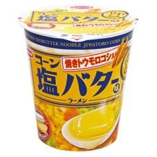 じわとろコーン塩バター味ラーメン 108円