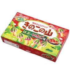 きのこの山 抹茶&いちご味 108円