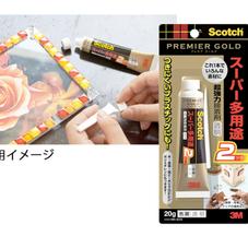 スコッチ 超強力接着剤 プレミアゴールド 578円(税抜)