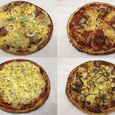 ピザ各種1切れ 200円(税抜)