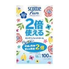 スコッティ ファン2倍使えるトイレットロール シングル 598円(税抜)