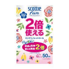 スコッティ ファン2倍使えるトイレットロール ダブル 598円(税抜)