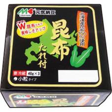 昆布たれ納豆 78円(税抜)