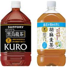 黒烏龍茶 ごま麦茶 358円