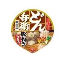どん兵衛 豚ねぎうどん 108円(税抜)