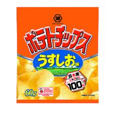 ポテトチップス各種 55円(税抜)