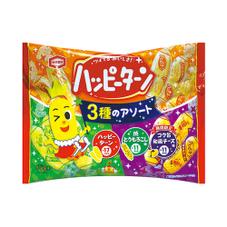 ハッピーターン3種のアソート 178円(税抜)