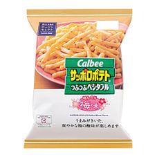サッポロポテトつぶつぶベジタブル梅味 108円