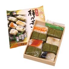 加賀名産 柿の葉ずし 908円(税抜)