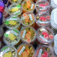 フルーツセラピー(グレープフルーツ.バレンシアオレンジ.ホワイトピーチ) 100円(税抜)