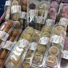 黒糖まんじゅう.みたらしたれ包み.きな粉草餅(つぶあん).桜もち(こしあん) 100円(税抜)