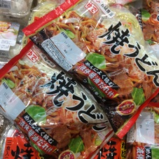 焼うどん(香ばし醤油たれつき) 100円(税抜)