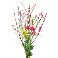 桃の花束 397円(税抜)