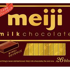明治 ミルクチョコレート 248円(税抜)