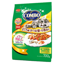 コンボキャット まぐろ味・かつお節・小魚添え 530円(税抜)