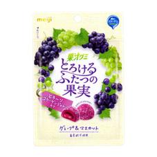 果汁グミとろけるふたつの果実 98円(税抜)