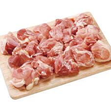 鶏肉モモ角切り(解凍品) 79円(税抜)