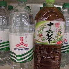 三ツ矢サイダー・十六茶 108円(税抜)