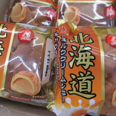 北海道練乳ミルクシューキャラメル仕立て 89円(税抜)