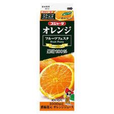 フルーツフェスタオレンジ100% 98円(税抜)