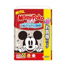 マミーポコパンツ ウルトラジャンボ(ビッグ) 1,298円(税抜)