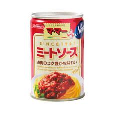 ママーミートソース 158円(税抜)