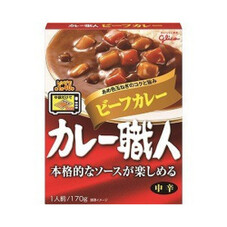 カレー職人ビーフカレー中辛 88円(税抜)