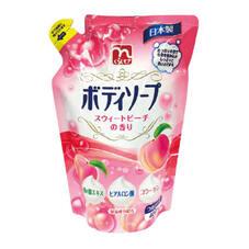 ボディソープ スィートピーチの香り 98円(税抜)