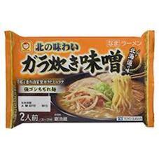 北の味わい ガラ炊き味噌ラーメン 138円(税抜)