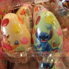 カラフルエッグチョコ 118円(税抜)