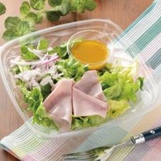 すりおろし野菜ドレで食べるグリーンサラダ 298円