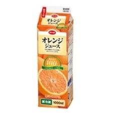 オレンジジュース 128円(税抜)