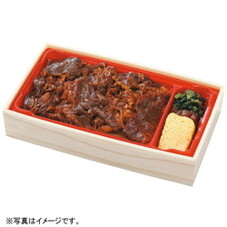 甲州ワインビーフの牛飯 550円(税抜)