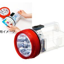 収納できる軽量LEDライト 980円(税抜)