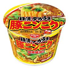 日清 デカうま 豚ニンニク味 95円(税抜)