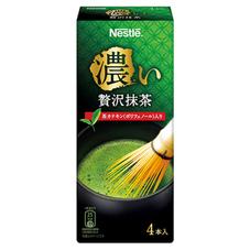 ネスレ 濃い贅沢抹茶 158円(税抜)